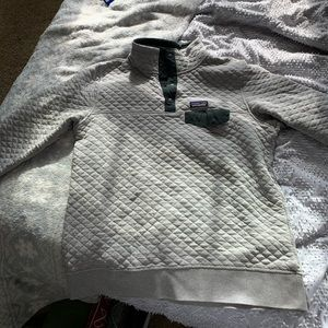 PATAGONIA Cotton Quilt Snap-T Pullover Sz:L